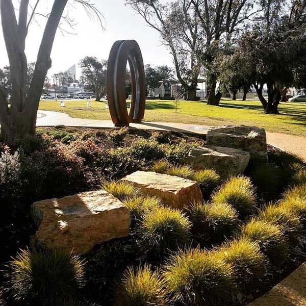 Landscaped Gardens, Moongate and Labyrinth